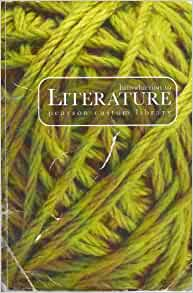introduction to literature pearson custom library