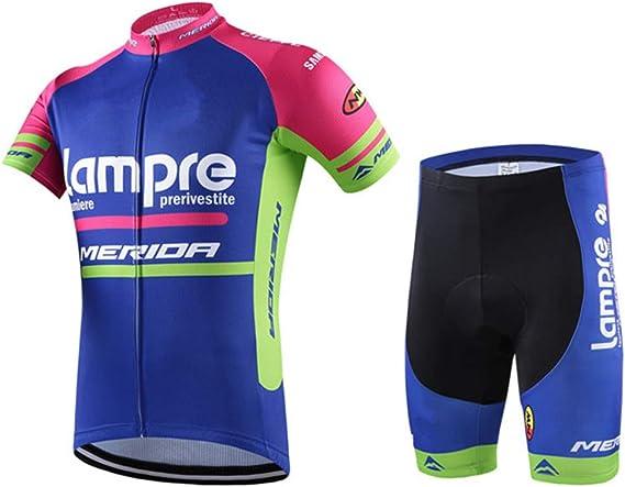 Abbigliamento ciclismo Set completo Tuta Bici Maglia Salopette Pantaloncini