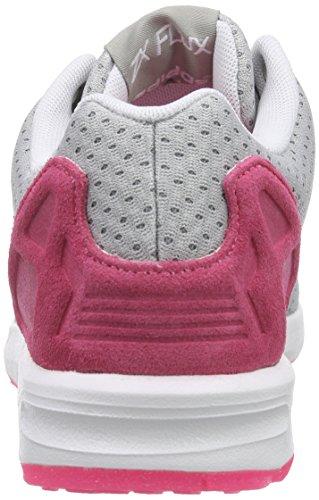 Damen ZX White Solar Solid Grau Ftwr adidas Grey W Flux Sneakers Mgh Pink Bxtdnwvwaq