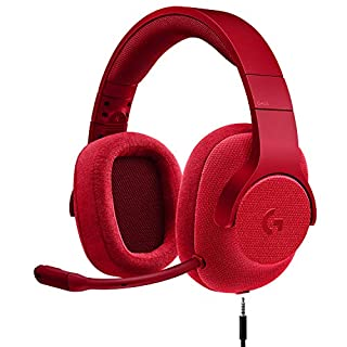 Logitech G433 7.1 Wired Gaming Headset with DTS Headphone: X 7.1 Surround for PC, PS4, PS4 PRO, Xbox One, Xbox One S, Nintendo Switch - Fire Red (B072FJQ82Y) | Amazon price tracker / tracking, Amazon price history charts, Amazon price watches, Amazon price drop alerts