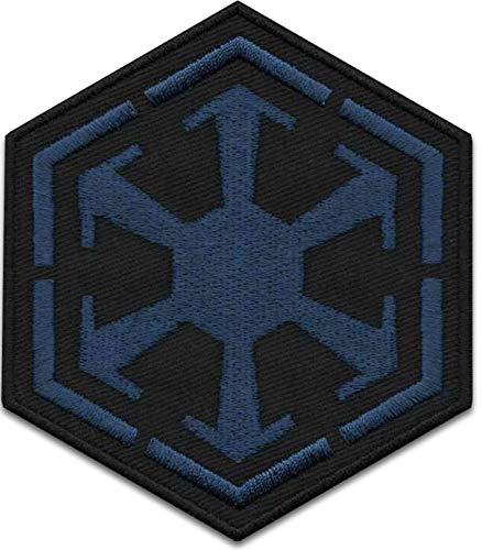Iron On Patches - Blue Star Wars - Sith Empire Logo Galactic Empire Patch Iron On Patch Embroidered Applique Miltacusa Star Wars Squadron Jedi Order Patch S-57