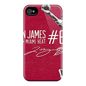 Shock-Absorbing Hard Phone Case For Iphone 6 With Unique Design Nice Miami Heat Pattern RudyPugh