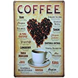 Generic Imported Coffee Metal Tin Sign Art Poster Home Cafe Bar Pub Vintage Plaque Decor 18