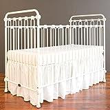 Cheap Bratt Decor joy baby crib distressed white