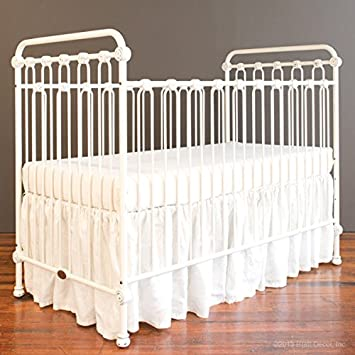 Amazon.: Bratt Decor Joy Baby Crib Distressed White : Baby