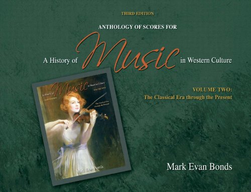 Anthology Of Scores For A History Of Music In Western Culture Volume II