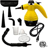 Steam Cleaner, Kasonic Multi-Purpose Handheld Pressurized High Pressure and Chemical Free Ideal to Removes Stains, Grease, Mold on Carpet, Floor, Vehicle, Window, Garments, Mattress