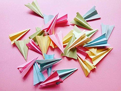 Bolsas de aviones de papel como confeti para boda (Pack de ...