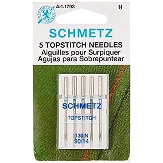 Topstitch Machine Needle-Size 90/14 5/Pkg