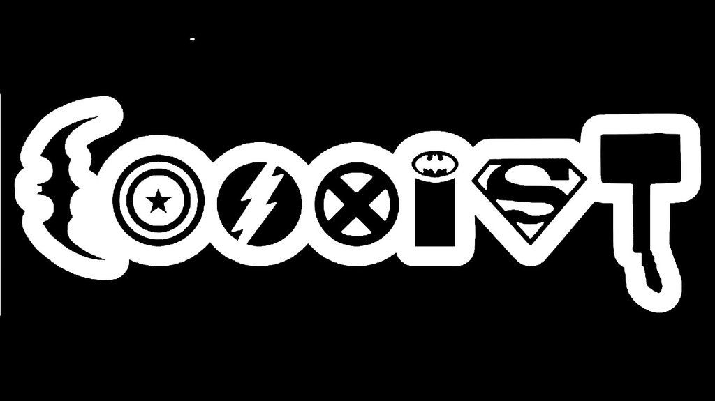 Coexist Avengers Vinyl Decal Sticker|Car Truck Van Wall Laptop|WHITE|6.5 In|KCD674
