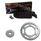 1998-2003 Yamaha YZF R1 O-Ring Chain and Sprocket Kit - Black