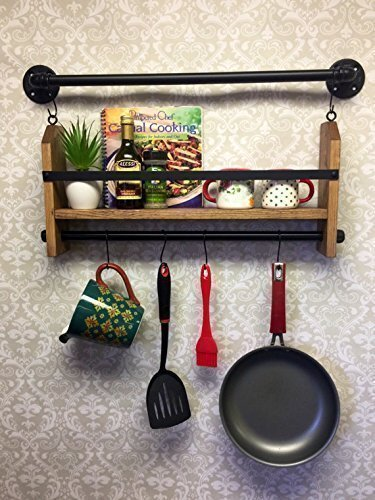 Wood Spice Rack For Wall Custom Amazon Wall Spice Rack Organizer Wall Spice Rack Shelf Wall
