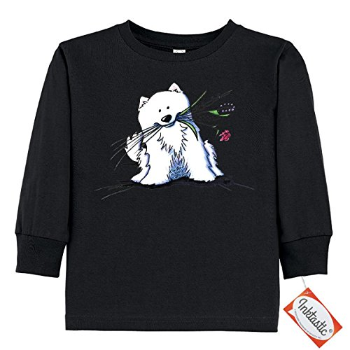 inktastic-little-boys-eskimo-cutie-pie-toddler-long-sleeve-t-shirts-by-kiniart-3t-black