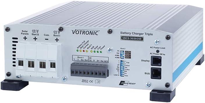 Votronic Battery Charger Vbcs 30 20 250 Triple Beleuchtung