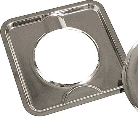 Amazon Com Camco Manufacturing Inc 7 3 4 Square Burner Drip Pan 373 Home Improvement