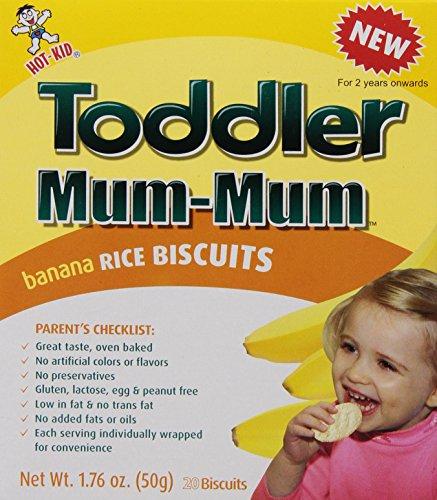 Mum Mum for Toddlers Rice Biscuits - Banana - 1.76 oz