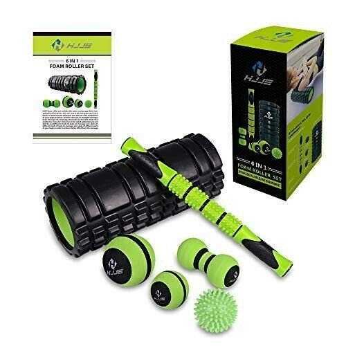 (HJJS 6 in 1 Foam Roller Set)