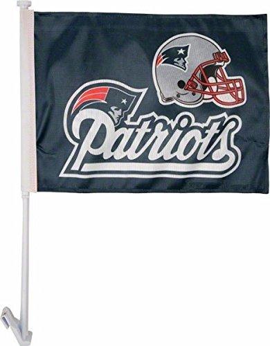 New England Patriots NFL Licensed Car Flag
