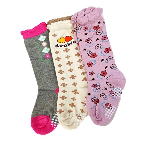 Lovely-Annie-Baby-Girls-3-Pairs-Pack-Cotton-Crew-Socks-One-Size0Y-2Y