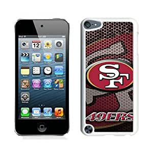 San Francisco 49ers White Durable Hard Shell iPod Touch 5 Phone Case