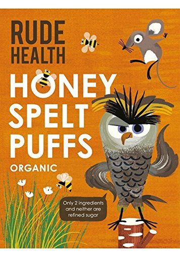 Rude Health Organic Honey Spelt Puffs 175g (Pack of 2)