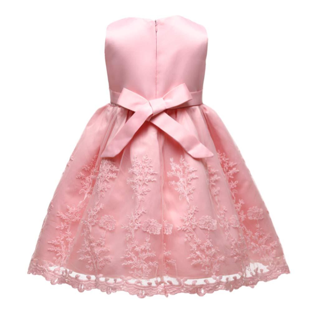 LZH Beb/é Infantil Ni/ñas Vestido de Bautizo de Cumplea/ños Bautismo Vestido de Banquete de Boda