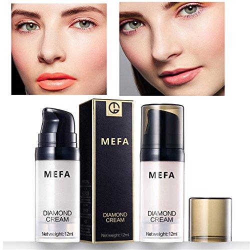 MEFA Liquid Highlighter Cream,Makeup Highlighter Illuminating Diamon Cream(#02)