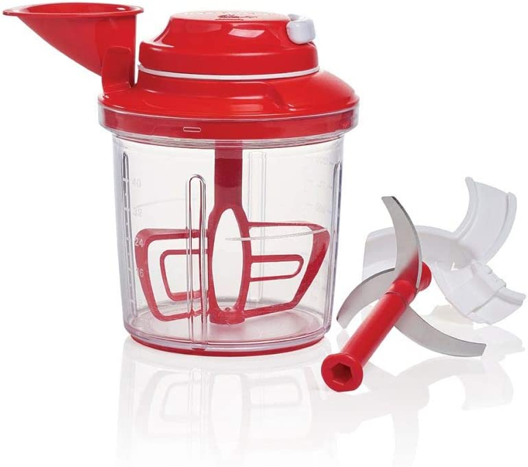 Tupperware Power Chef System Red