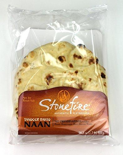Stonefire Naan (Original Round 8 inch, Pack of 48) -