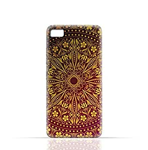 Lenovo S90 Sisley TPU Silicone Case with Floral Pattern 1201