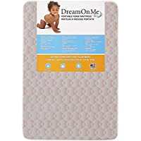 Dream On Me Foam Carina Collection Pack N Play Mattress, Wave Pink, 3