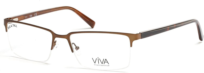 Eyeglasses Viva VV 4025 049 matte dark brown