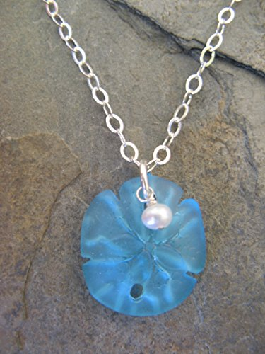 Beach Glass Pendant - 9