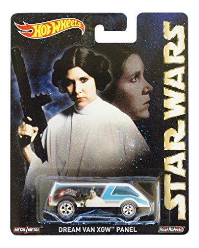 Star Wars Princess Leia Hot (2015 Hot Wheels Pop Culture Star Wars Princess Leia Dream Van XGW Panel)