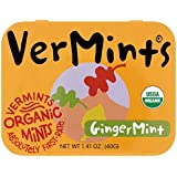 VerMints All Natural GingerMints, 1.41-Ounce Tins (Pack of 6)