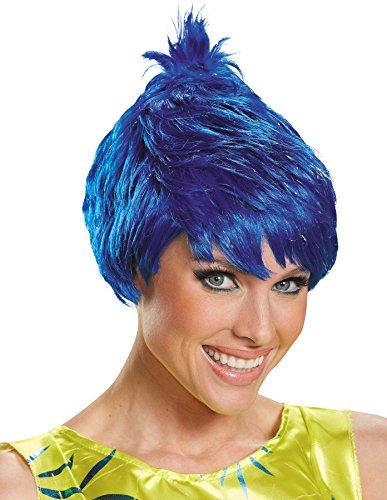 Disguise Disney Pixar's Inside Out Joy Wig Adult Halloween Costume (Inside Out Joy Costume)