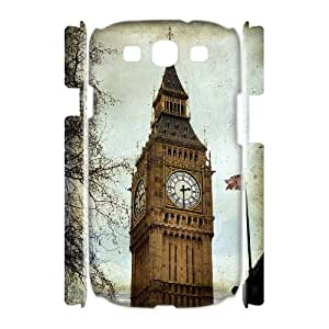 HEHEDE Phone Case Of uk illustration Fashion Style Colorful Painted For Samsung Galaxy S3 I9300