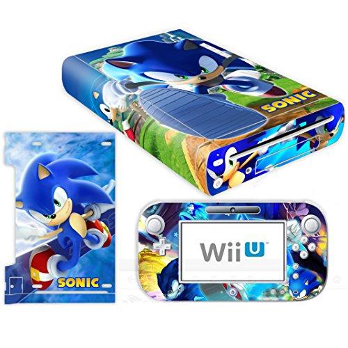 Skin Wii Vinyl - Vanknight Nintendo Wii U Console Controller Skin Set Vinyl Decal Stickers Cover
