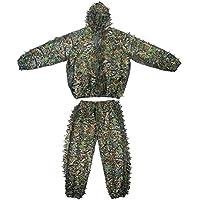 Ghillie Suit, Camo Suit 3D Leaves Woodland Camouflage...