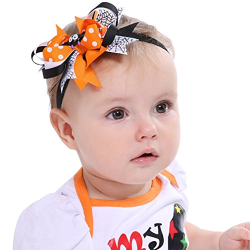 TraveT Cute Baby Girl's Halloween Headband Costume Hair Bows Ornaments