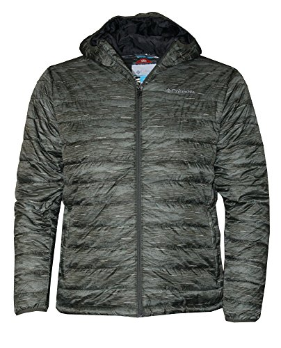 Columbia Men's Crested Butte Omni-Heat Hooded Jacket, Peatmoss, Medium