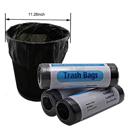 Strong Durable Kitchen Garbage Bags Home Bathroom Office