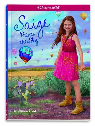 By Jessie Haas - Saige Paints the Sky (American Girl Collection: Saige 2013) (11/27/12)
