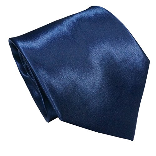 LilMents 6 Pack Mens Classic Plain Solid Color Formal Necktie Tie Set (Set A) by LilMents (Image #5)'