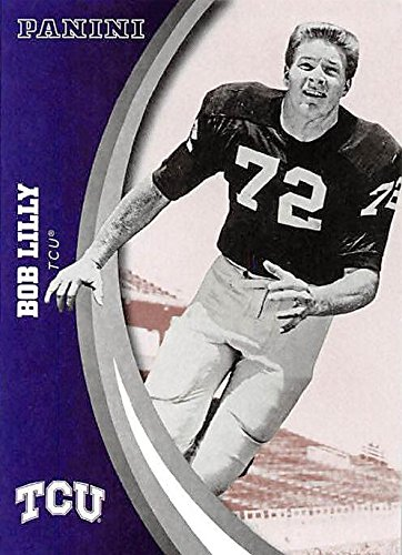 (Bob Lilly football card (TCU Horned Frogs) 2016 Panini Team Collection #32)