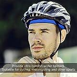 FitsT4 Active Sweat Wicking Bike Helmet Liner