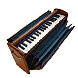 BINA Dulcetina | Teak Travel Harmonium with Gig Bag | Ships from U.S.