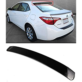 For 14-19 Toyota Corolla OE Style Rear Trunk Wing Spoiler Gloss Black PAINTED