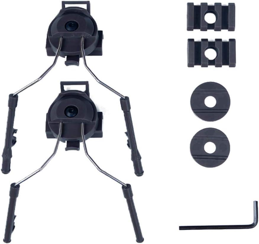 ATAIRSOFT Adaptador para Auriculares de Casco t/áctico para COMTAC Auricular Casco r/ápido Riel Lateral