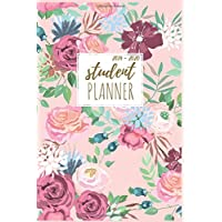 Student Planner: Pretty Pink Flowers Student Planner 2019-2020 High School, Middle School , College, University , Daily, Weekly and Monthly Calendar Agenda Schedule Things To Do's Academic Year August 2019 - July 2020.